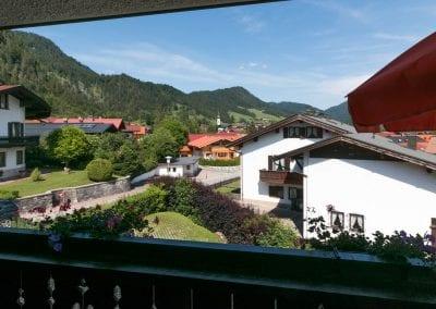 Alpenrose - balkonaussicht